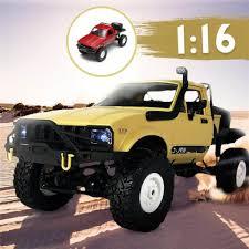 100 Mini Rc Truck Harga WPL C14 116 OffRoad RC Hynix 24G Remote Control