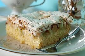 rhabarberkuchen mit nussbaiser jesusfreak chefkoch