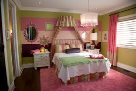 Awesome Girl Bedroom With Wall Painting Ideas Bedrooms Terrific Paintings