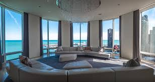 100 The Penthouse Chicago This 135 Million Apartment In Has A Rotating