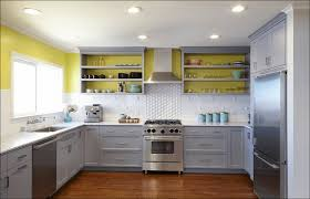 awesome blue grey kitchen cabinets taste