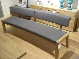 Furniture Long Upholstered Dining Bench With Back Unique Benches Backs Designs Ideas