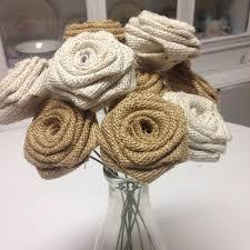 Set Of 30 Mixed Ivory An Natural Roses On Stems Wedding Decor DIY Rustic Bouquet Flower Arrangement