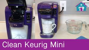 How To Clean Keurig Mini