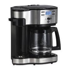 Hamilton Beach 49980A Single Serve Coffee Brewer And Full Pot Maker 2 Wa