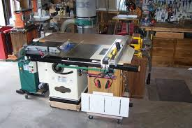 Grizzly 1023 Cabinet Saw by Which Table Saw By Chris Speights Lumberjocks Com