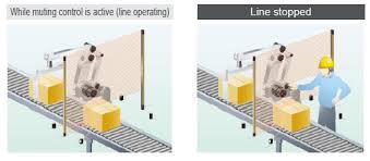 Omron Sti Light Curtains by Making Light Work Of Machine Safety Digikey
