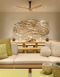 treibholz deko im modernen interior strandvilla in