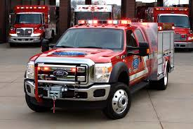 2011 FORD SUPER DUTY FIRE TRUCK AIDS FAMILIES OF FALLEN LOS ANGELES ...