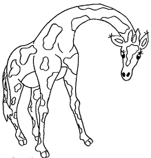 Printable Giraffe Coloring Pages Free Online Crayola Christmas