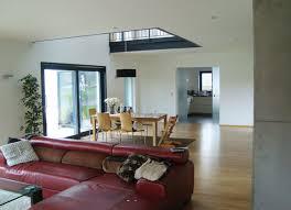 offenes wohnen mit luftraum modern wohnbereich