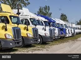 100 Used Freightliner Trucks Zionsville Circa Image Photo Free Trial Bigstock