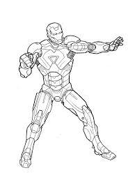 Coloriage Iron Man 3 Coloriage Iron Man