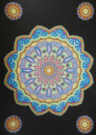 Mandala From Creative Therapy An Anti Stress Coloring Book