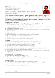 Sample Resume For Mba Hr Experienced Finance Experience Resumes Samples Example
