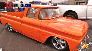 LOWERED TRUCKS At SEMA 2015 - YouTube