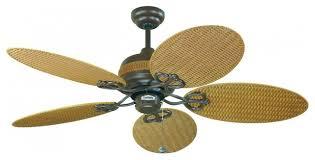 wicker ceiling fans fan design midcentury wood rattan bamboo oval