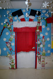 Holiday Door Decorations For School Why Santa Claus