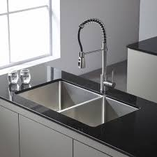 Kraus Faucets Home Depot by Kitchen Wonderful Kraus 30 Farmhouse Sink Home Depot Kitchen