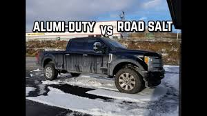 100 Aluminum Ford Truck 2017 Body S VS Road Salt YouTube