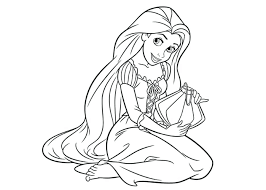 Coloring Pages Printable Disney Princess Halloween Free Sheets Kids Colouring Elsa