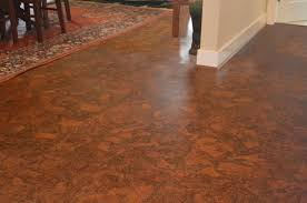 dining room wood look tile flooring swiss printed cork