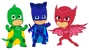 PJ MASKS Disney Coloring Page Book Owlette Catboy Gekko Superheroes