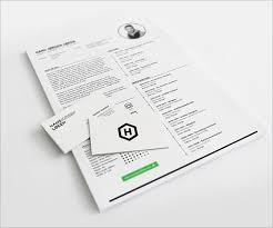 5 Free Indesign CV Template Design