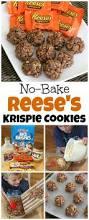 Rice Krispie Christmas Trees Uk by Reese U0027s Cookies No Bake Krispies Kitchen Fun With My 3 Sons