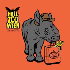 Cincinnati Zoo Halloween by Hallzooween Rhino Kendi Cincinnati Zoo Cincy Shirts