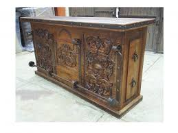Amusing Mexican Wood Furniture Rustic COSAS Online Folk Art Boerne Texas Old
