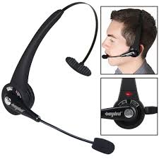 Wireless Bluetooth Noise Canceling Headset Headphone W/ Mic For ... 14hr Working Time Bluetooth Headphones Truck Driver Yamay Wireless Headset Over The Head Handfree Office Call Center Noise Cancelling Mic Bh M10b Boom Mono Multi Point Music Headphone Hands Free With Noise Concelling For Phones Tabletin Earphones Victal Mpow Match Your Smart Life Extremerebatebluetooth V42 Canceling Headsets Drivers Amazonca Earpiece Calling