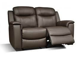 canapé 2 places en cuir canapé et fauteuil relax evasion en cuir 4 coloris