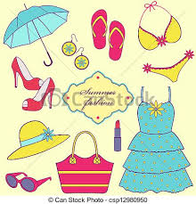 Summer Clipart Clothing 2