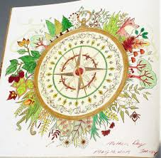Johanna Basford Enchanted Forest Coloring Primacolor Premiere Compass Colouring PagesColoring BooksArt