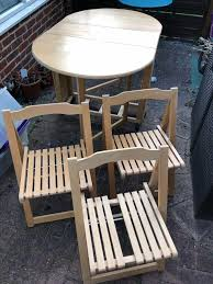 FREE! Wooden Folding Table With Three Chairs | In Maidstone ... Plantex Space Saver Teakwood Folding Chair Table Setwooden Stakmore Traditional Expanding Fruitwood Frame Flash Fniture Hercules 8 X 40 Wood Set 6 Chairs 47 Patio And Folding Chair Foldable Solid Basil Wooden King Teak 4 Piece Golden 1 Garden Shop Homeworks Online In Wow Incredible Luan 18x72 Ft Seminar Vinyl Edging Boltthru Top Locking Steel Mannagum Pnic With Seats