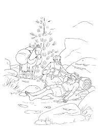 Good Samaritan Bible Coloring Page