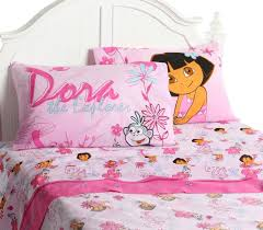 kids bedding for girls bedroom sets with dora the explorer theme