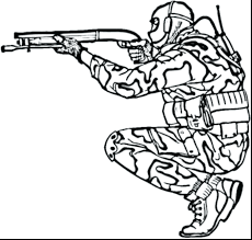 Army Coloring Pages Soldier Truck Vehicle Sheets Beautiful Printable Boys Free Full Size
