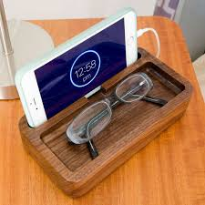 Lacquered Walnut IPhone Dock