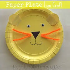 Simple Fun To Make And So Adorable Lion Paper Plate Craft For Kids