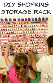 Make Your Own Toy Storage by Diy Shopkins Storage Rack Shopkins Storage Rack And Storage