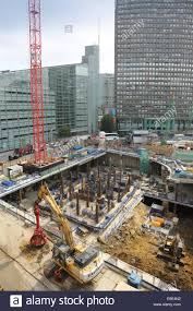 Construction Of Basement by Construction Of A Major New Mixed Commercial Development On A