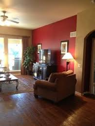 Red And Taupe Living Room Ideas by Burgendy Accent Wall Burgundy Accent Wall In Living Room For