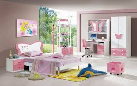 Child Bedroom Decor Purple And White Themed Modern Kids Room Design With Contemporary