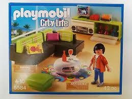 spielzeug playmobil 5584 city wohnzimmer neu ovp