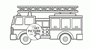 Free Fire Truck Coloring Pages Printable Best Free Fire Truck ...
