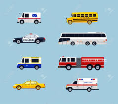 100 Who Makes Mail Trucks Vehicle Transportation Modern Vector Flat Design Icons Set