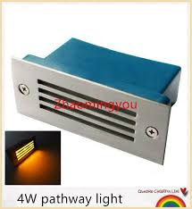 yon 4w wall light outdoor recessed wall lights embedded footlights