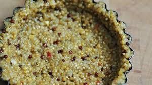 pâte à tarte salée au quinoa en deux ingrédients recette par my